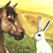 Pony and Little White Rabbit - 2007