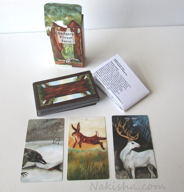Badgers Forest Tarot Cards