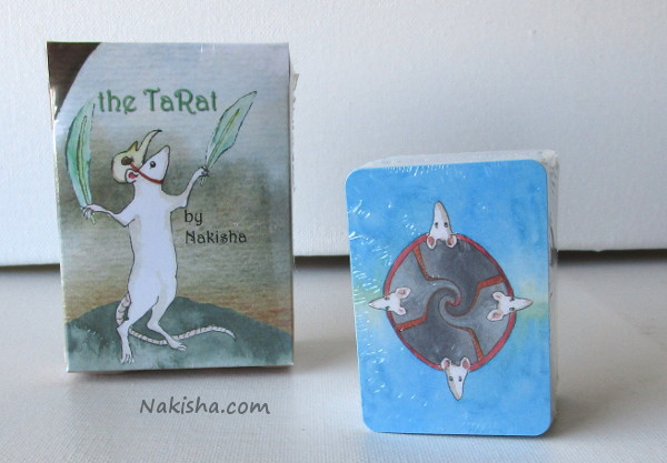 The TaRat rat tarot Deck  by Nakisha