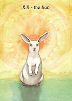 The Rabbit Tarot by Nakisha